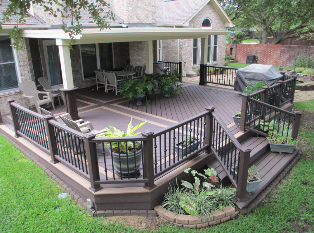 Decks patios jr d construction for Outdoor porches and patios